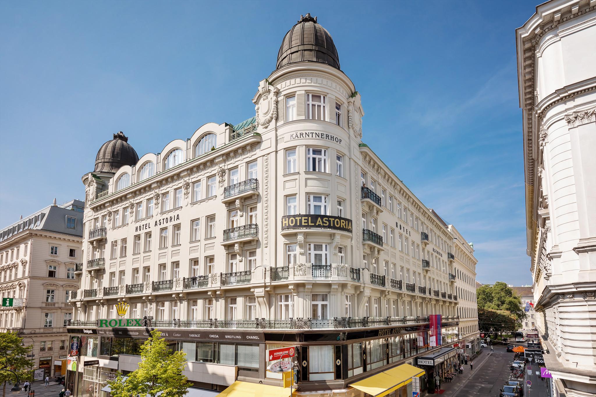 Hotel Astoria 4 Sterne Hotel In Wiens Innenstadt