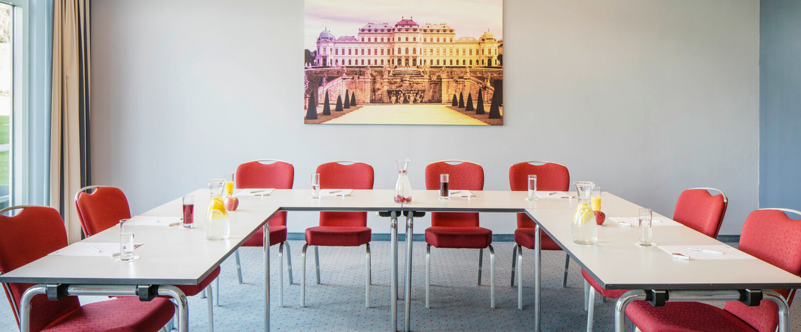 Seminar room with U-shape | Hotel Bosei in Vienna