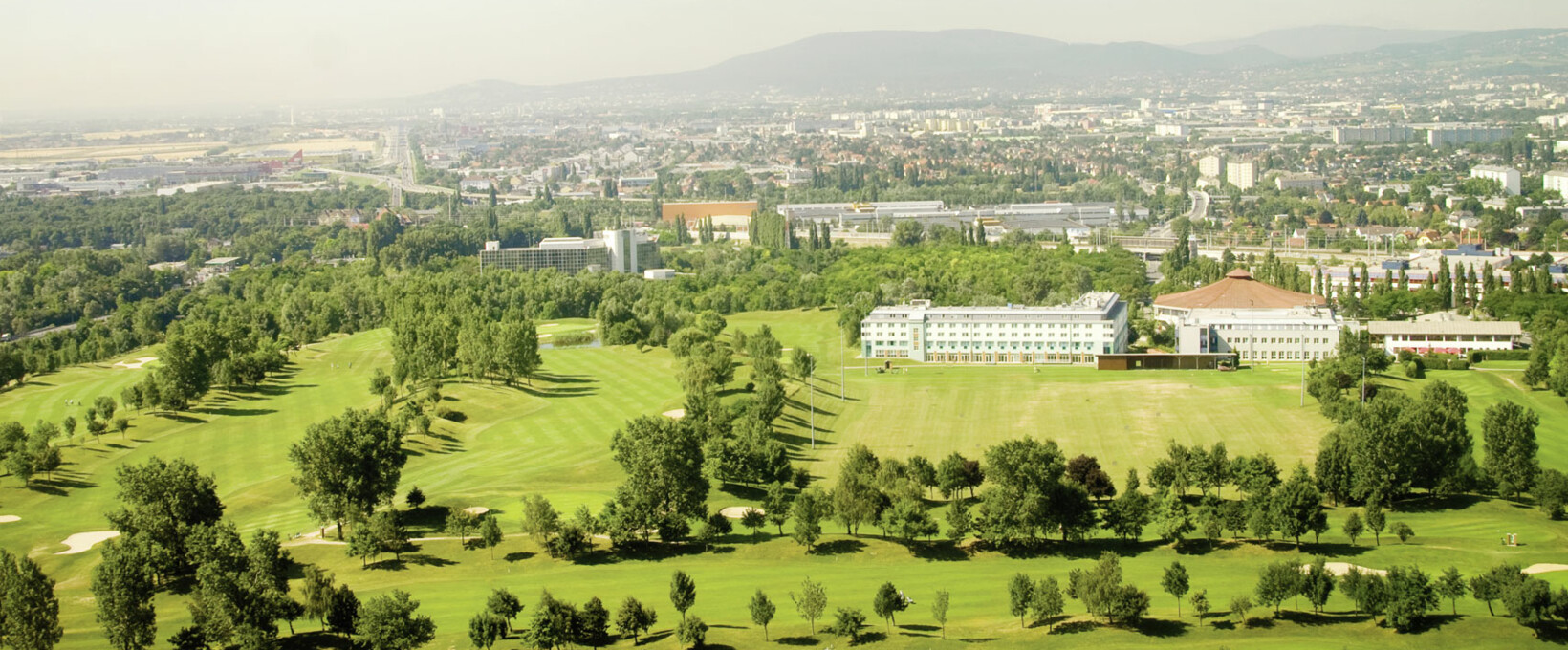 Panorama view over vienna | Hotel Bosei in Vienna