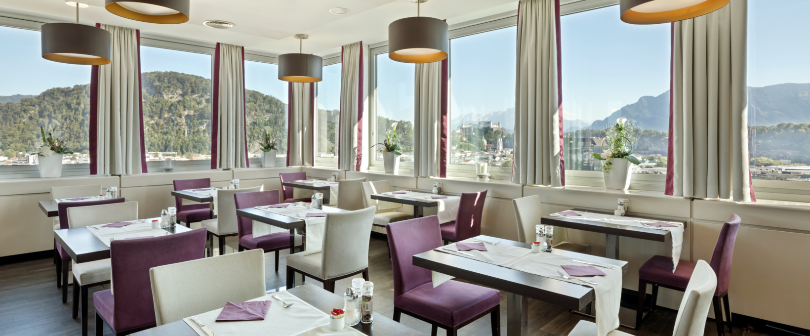 Restaurant with a view | Hotel Europa Salzburg