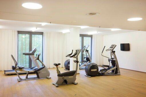 Fitness room with equipment | Radisson Blu Park Royal Palace Hotel in Vienna