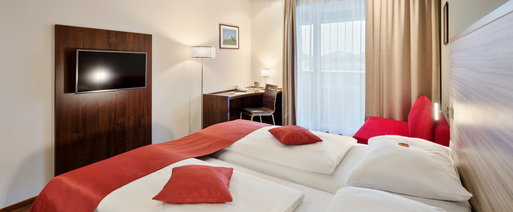 Executive Room with balcony | Hotel Salzburg Mitte