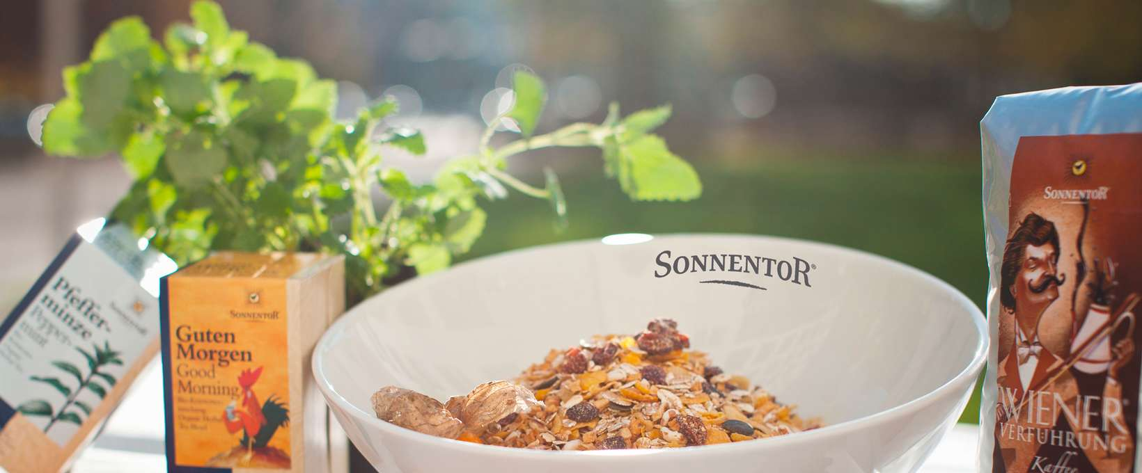 Sonnentor cereal in bowl