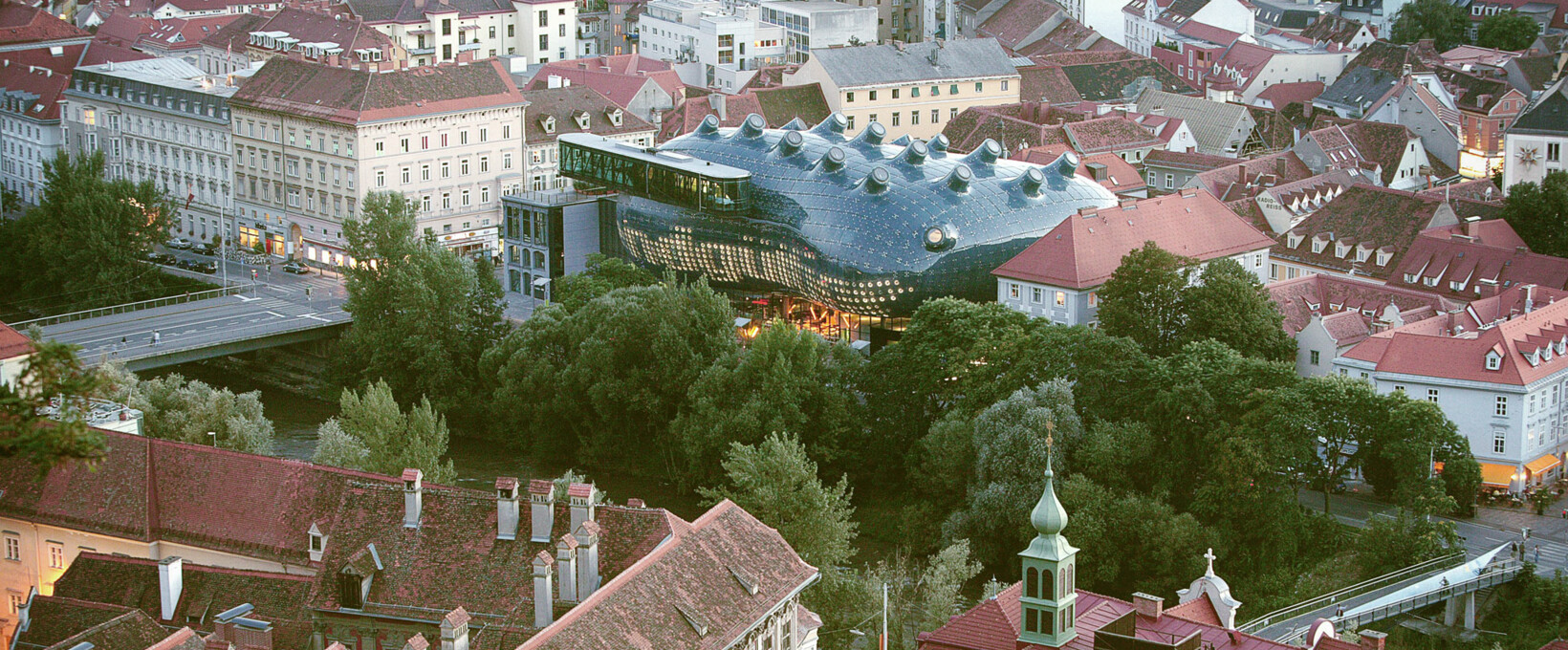 Art house panorama view | Graz | © Graz Tourismus | Harry Schiffer