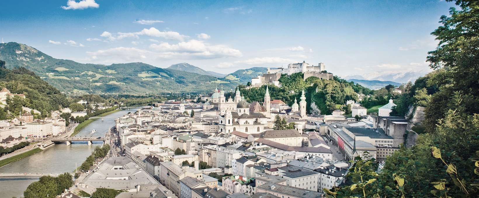 Panorama over the city | Salzburg