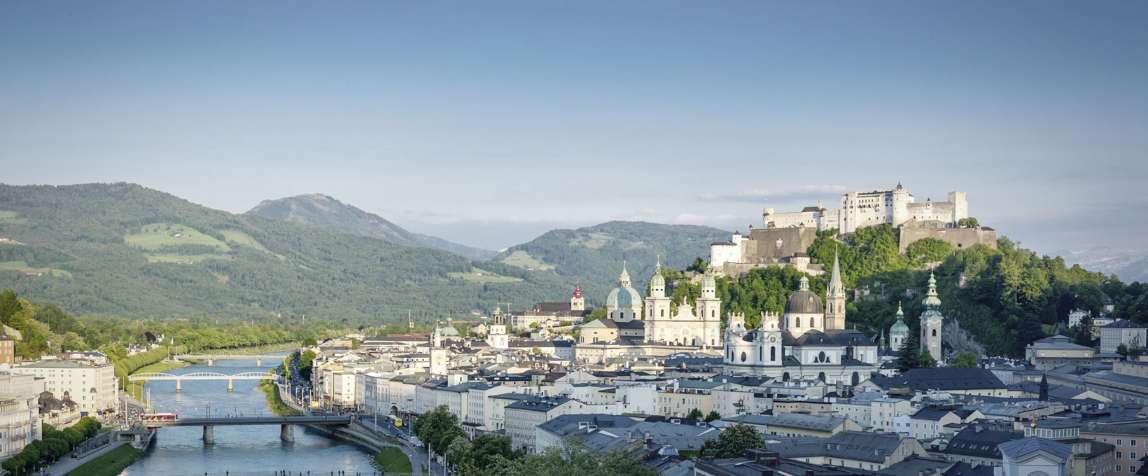 Panorama over the city | Salzburg | © Tourismus Salzburg