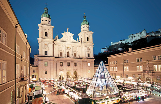Christmas market with exhibitors | Salzburg