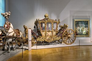 Imperial coach, Imperial Carriage Museum | Vienna | © KHM-Museumsverband