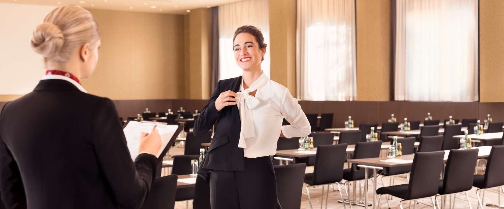 Woman in the seminar rooms | Austria Trend Hotels