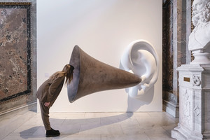 Beethoven's Trumpet (with Ear) Opus # 133 | © John Baldessari Courtesy of the artist, Sprüth Magers and Beyer Projects